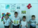 Месячник безопасности: конкурс рисунков 1 класс